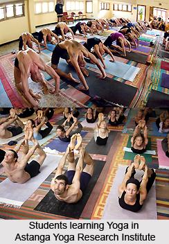 Astanga Yoga Research Institute  , Mysore, Karnataka
