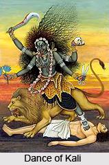 Dance of Kali, Folk Dances of West Bengal