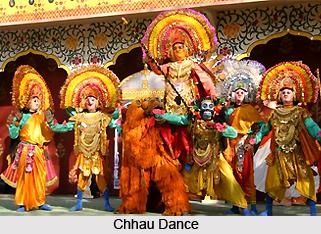 Suddhendra Narayan Singh Deo, Indian Chhau Performer