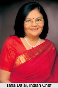 Tarla Dalal, Indian Chef