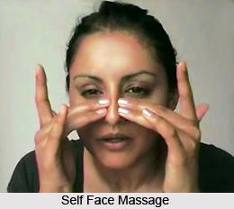 benefits face massage scalp
