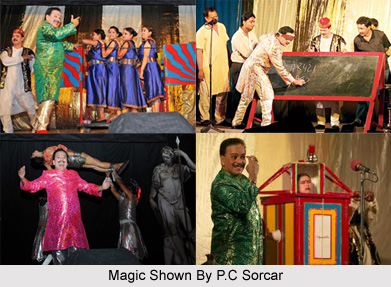 P.C. Sorcar Junior, Indian Magician
