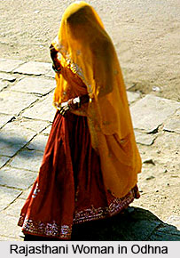Odhna, Costume for Rajasthani Women