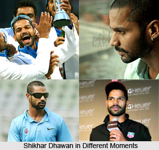 Shikhar Dhawan, Indian Cricket Player