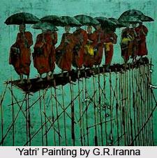 G.R. Iranna, Indian Painter