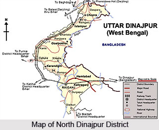 Geography of North Dinajpur District