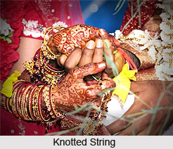 Knotted String, traditioinal game, Indian wedding