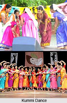 Kummi, Folk Dance of Tamil Nadu