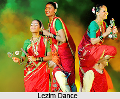 Lezim and Phungadi Dance, Indian Tribal Dance