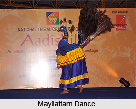 Mayilattam, Folk Dance of Tamil Nadu