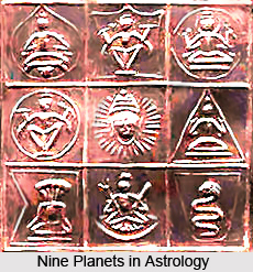 Nine Planets in Astrology