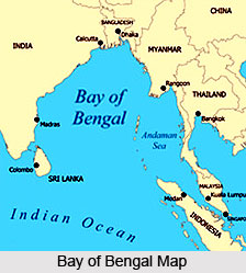 Bay of Bengal, Indian Physiography