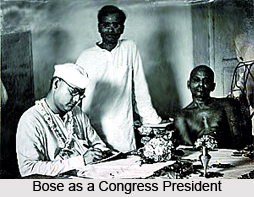 Subhas Chandra Bose in Freedom Struggle