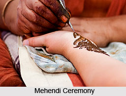 Mehendi Ceremony, Indian Wedding