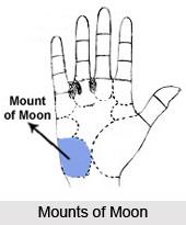 Mounts in Palmistry