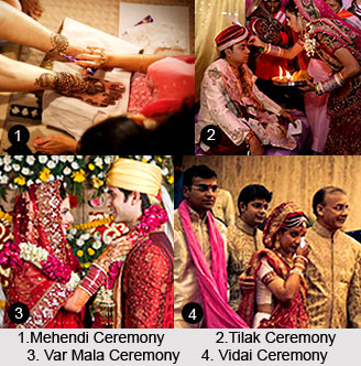 Steps in an Indian Wedding Ceremony