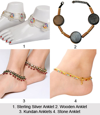 Anklets , Indian Jewellery