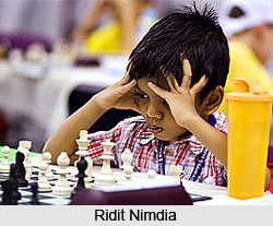 Ridit Nimdia, Indian Chess Player