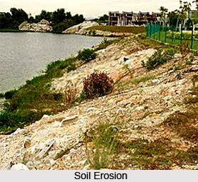 Soil erosion in north and central zones soil erosion in india for Soil zones of india