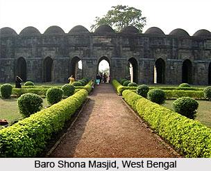 Baro Shona Masjid, Malda District, West Bengal