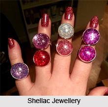 Shellac Jewellery