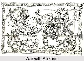 Shikhandi, Mahabharata