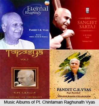 Pt. Chintaman Raghunath Vyas, Indian Classical Vocalist