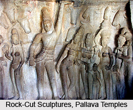 Indian Rock Cut Sculpture