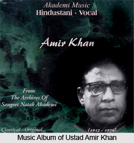 Ustad Amir Khan, Indian Classical Vocalist