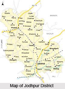 Administration of Jodhpur District, Rajasthan