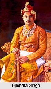 Brijendra Singh, Ruler of Bharatpur
