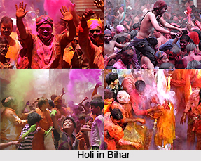 Holi Celebration in Indian states