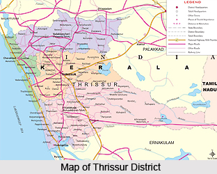 Thrissur District ,Kerala