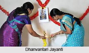 Dhanvantari Jayanti , Indian Festival