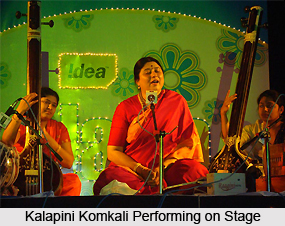 Kalapini Komkali, Indian Classical Vocalist