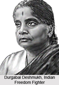 Durgabai Deshmukh, Indian Freedom Fighter