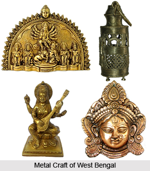 Metal craft of west bengal indian craft for West materials crafts in hindi