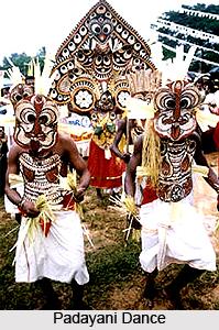 Padayani Dance, Kerala