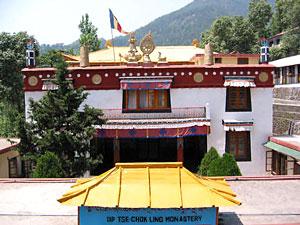 Dip Tse-Chok Ling Gompa, Dharamshala, Kangra, Himachal Pradesh