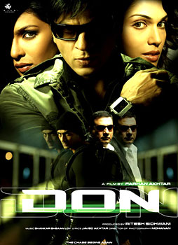 `Don - The Chase Begins Again`, Indian film