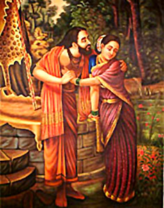 Dushyanta and Shakuntala