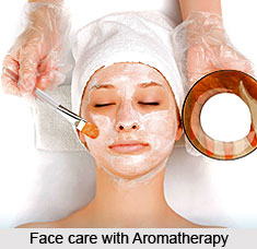 Face care with Aromatherapy
