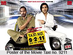 Taxi no. 9211, Indian movie