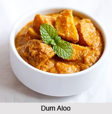 Dum Aloo, Indian Dish