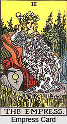 Empress Card , Tarot Card