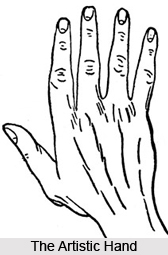 Artistic Hand, Indian Palmistry