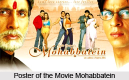 Mohabbatein, Indian movie