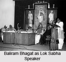 Baliram Bhagat , Indian Politician