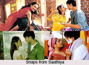 Saathiya, Indian movie