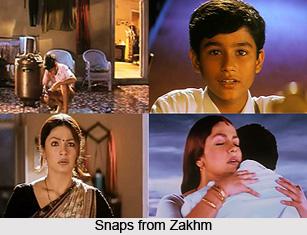 Zakhm,  Indian movie